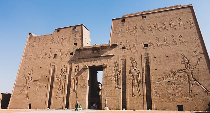 神秘的古埃及神廟