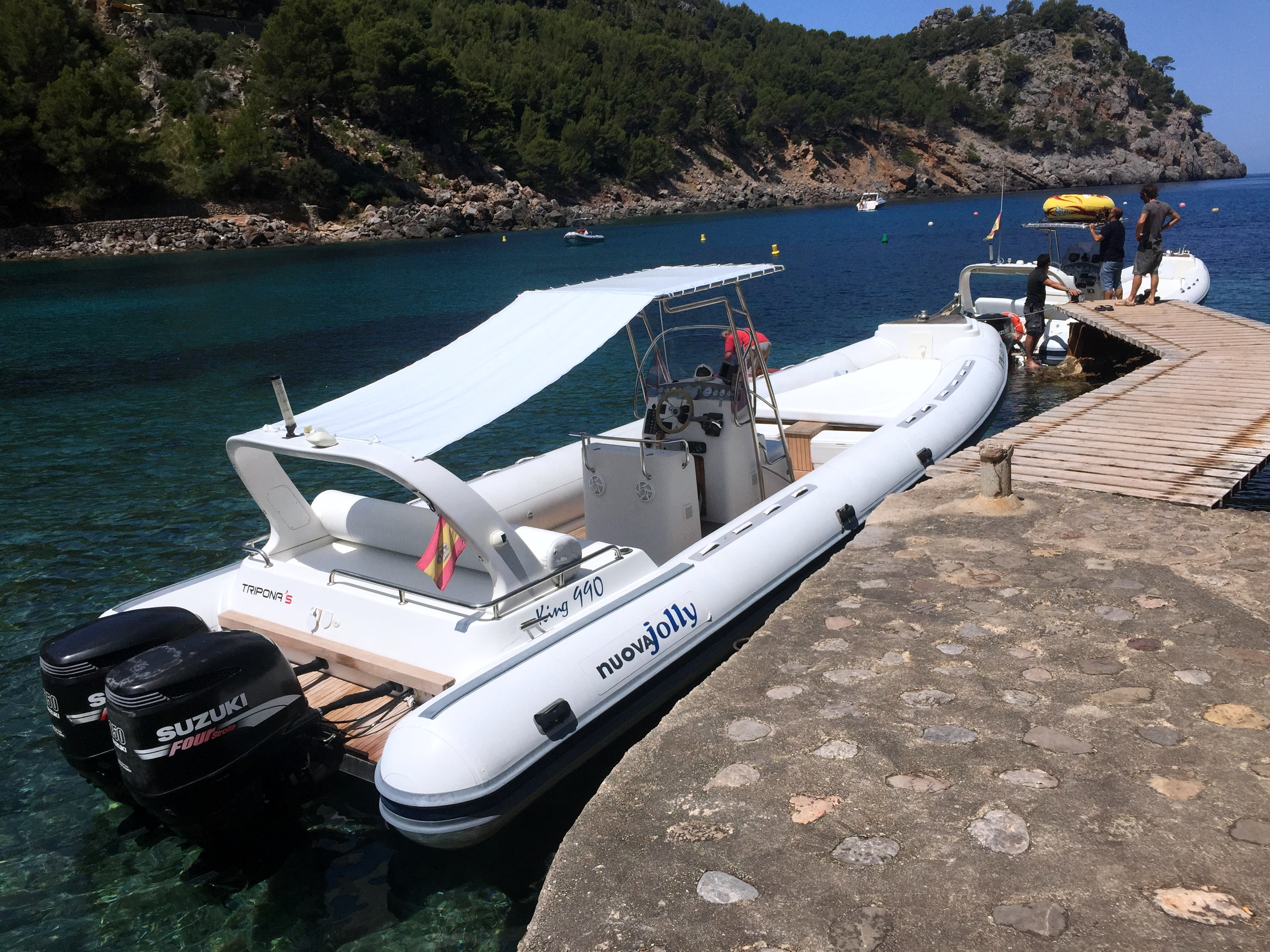 Rent a RIB powerboat KING EXTREME 990 (Ref: nmke2)