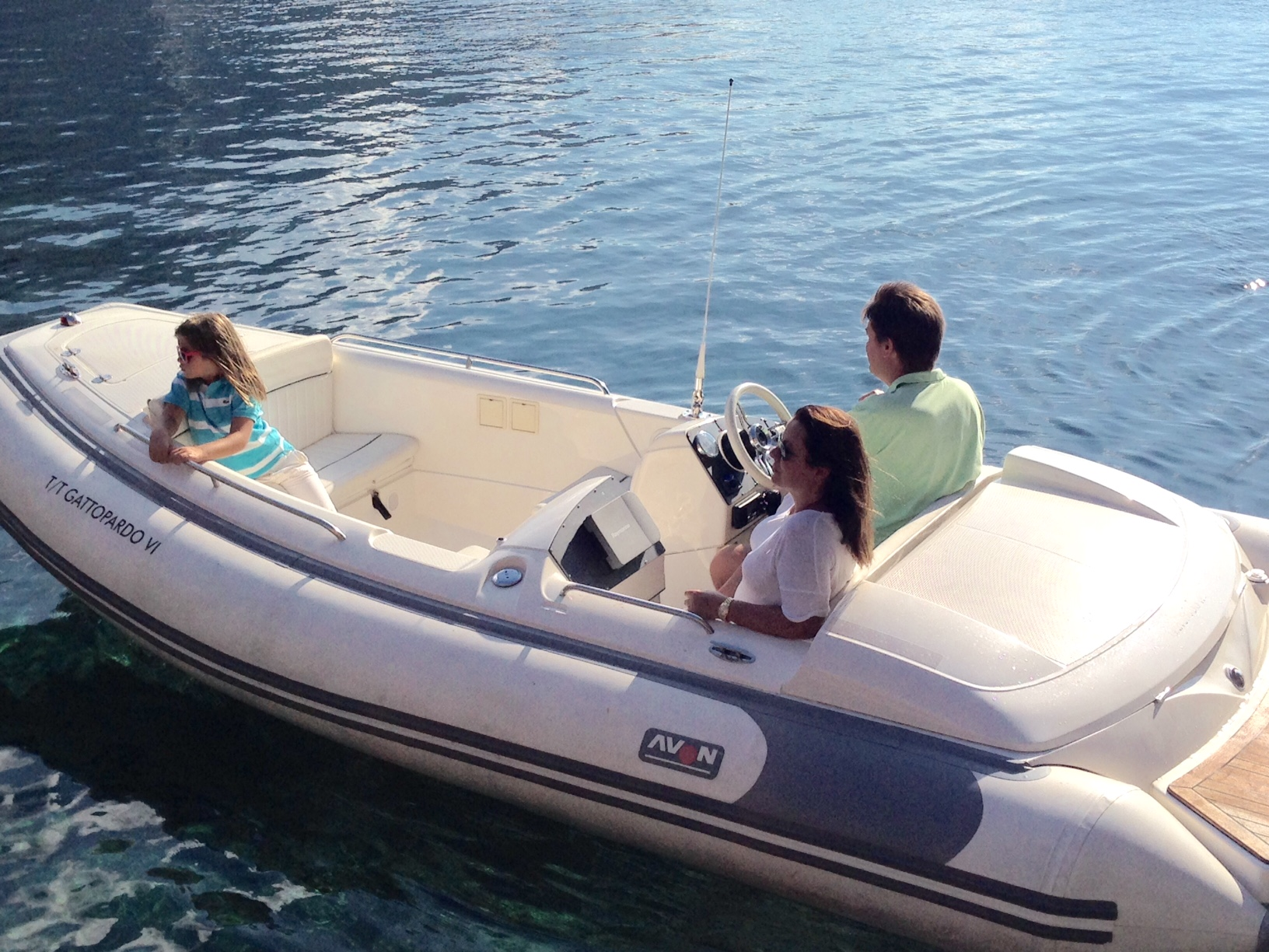 Rent a RIB powerboat SeaSport 490 DL (Ref: nmss9)