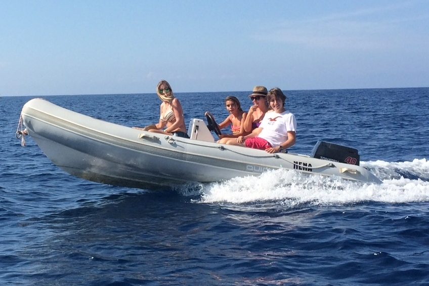 Rent a RIB powerboat Quicksilver QS450QR (Ref: nmqs10)