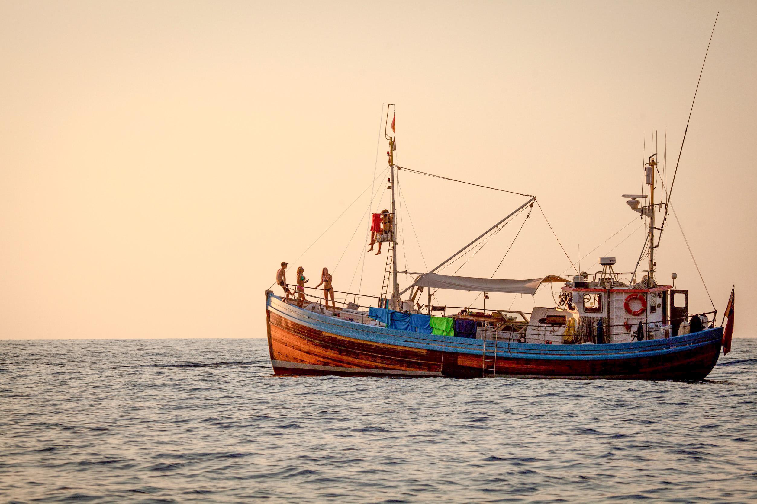 """Motorboat Charter """"17m Ringnetter"""" (Ref: bl17mcmc1)"""