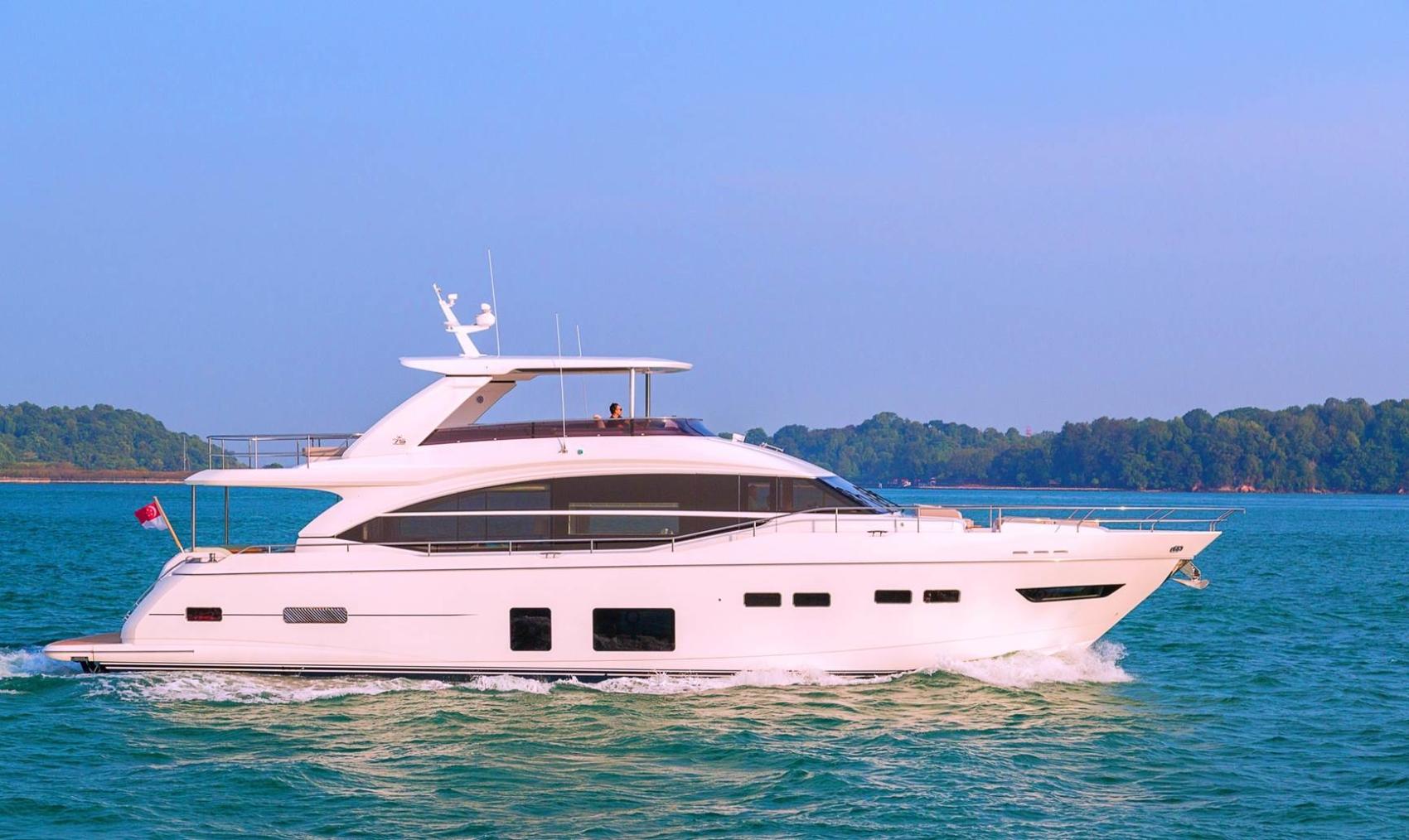 """Crewed Yacht Charter """"25m LnL"""" (Ref: pc25mlnl1)"""