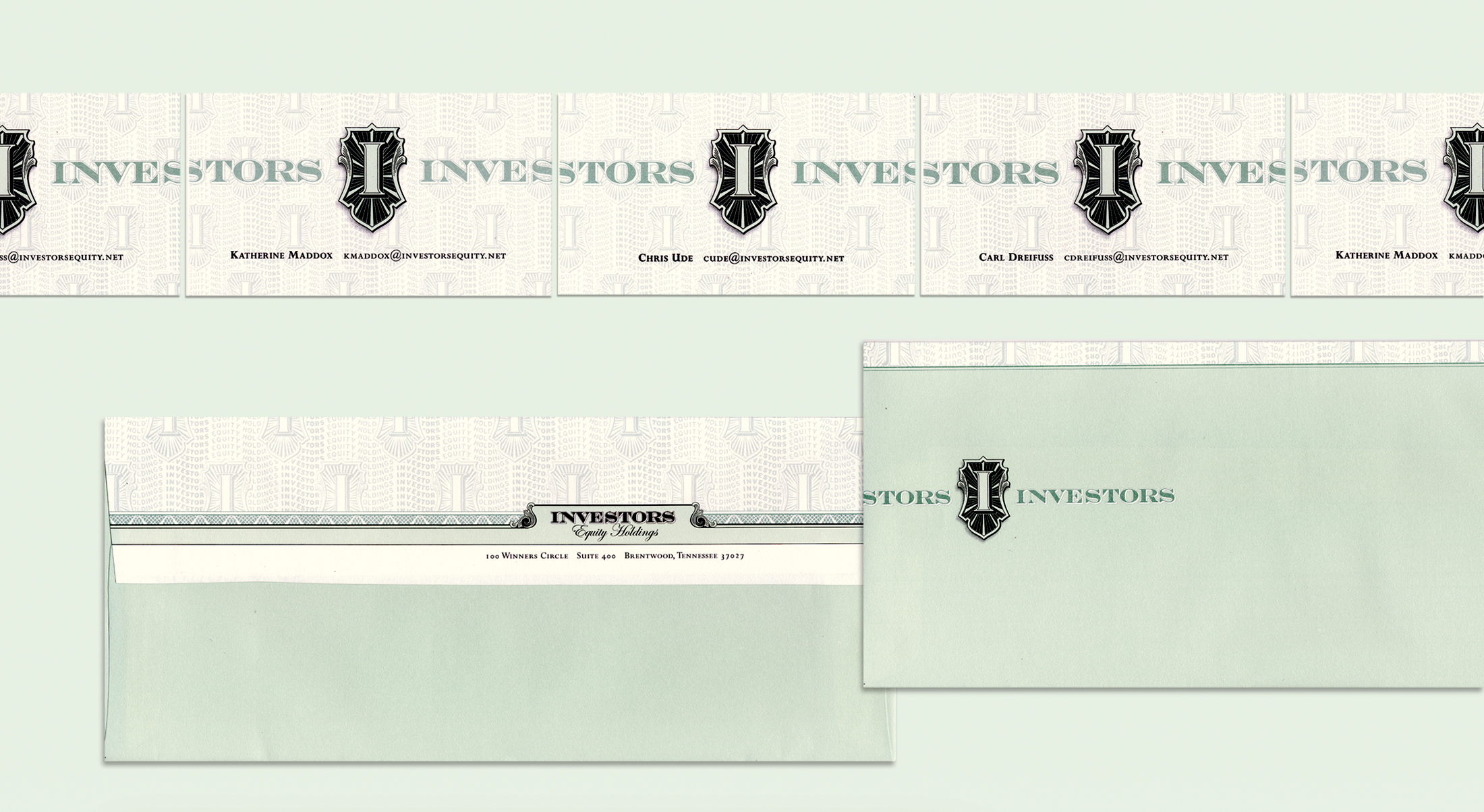 Investors Equity Stationery © Robertson Design