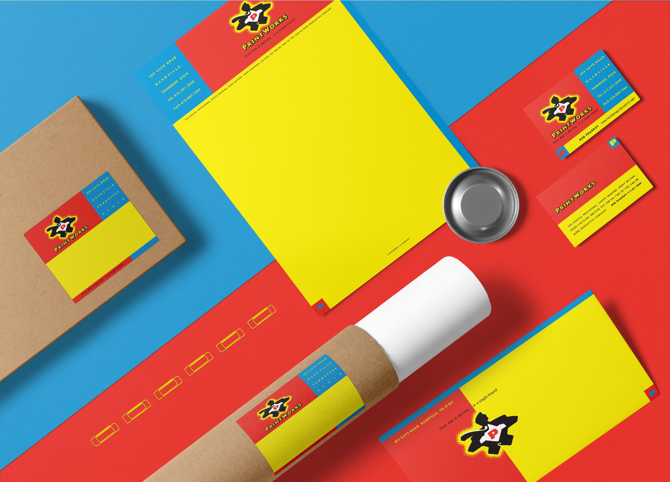 PrintWorks Stationery © Robertson Design