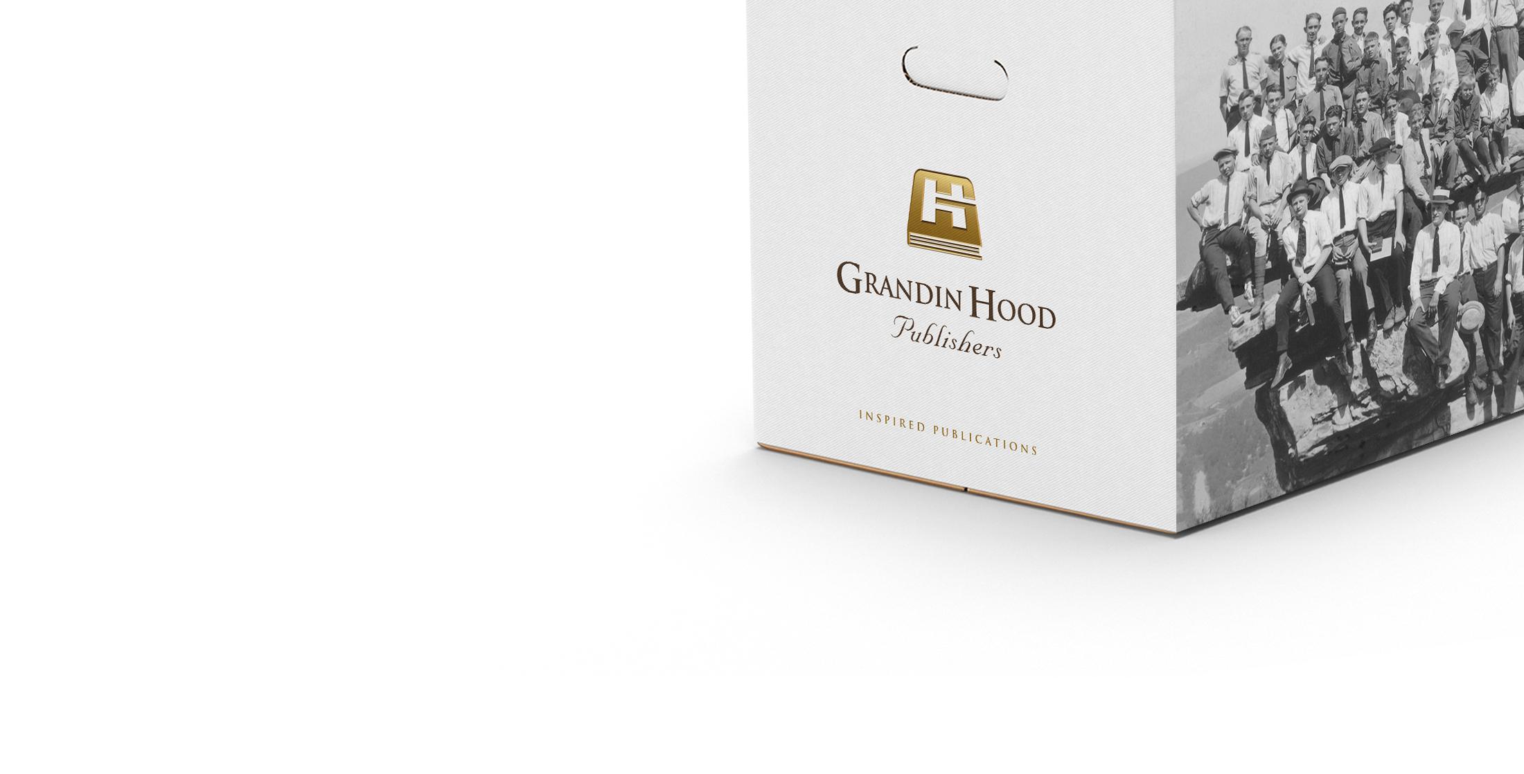 Grandin Hood Package Design © Robertson Design