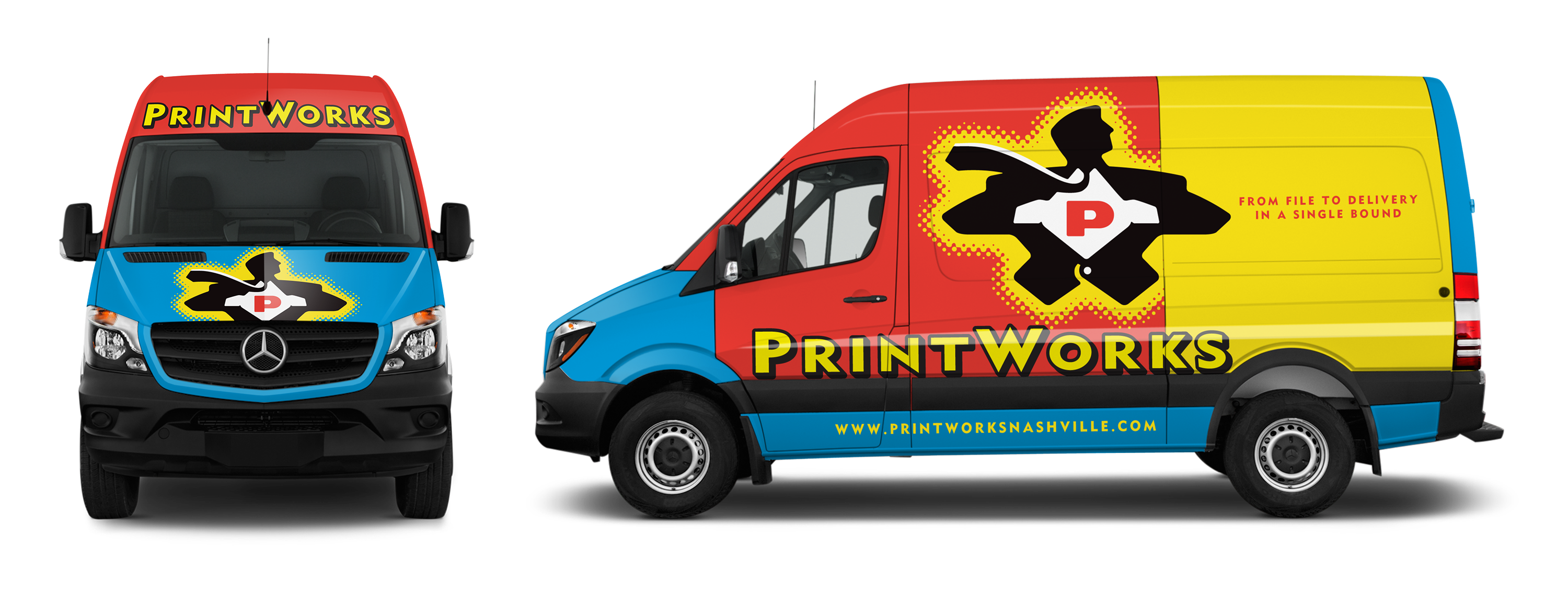PrintWorks Vehicle Graphics © Robertson Design