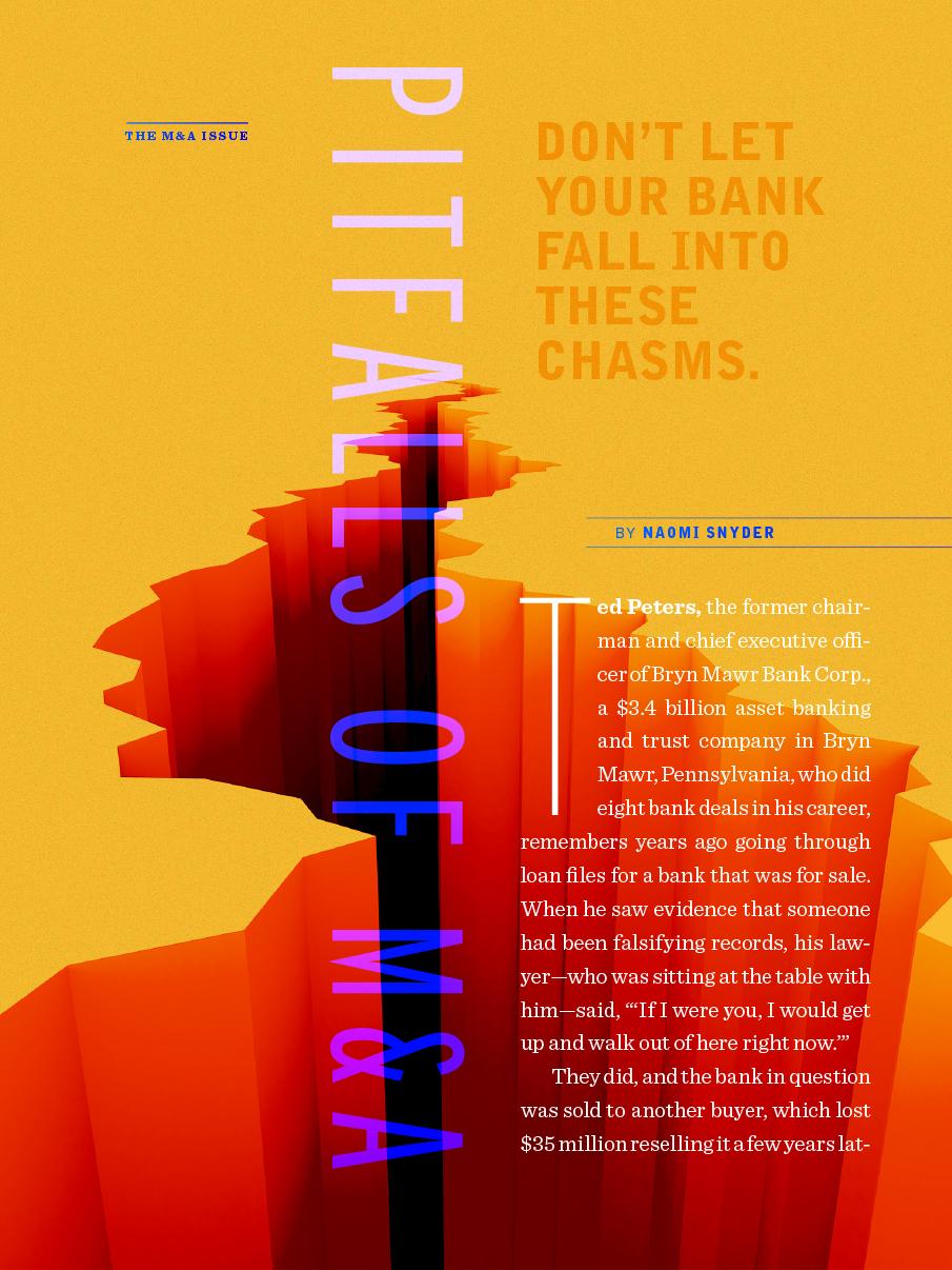 Digital magazine example M&A pitfalls