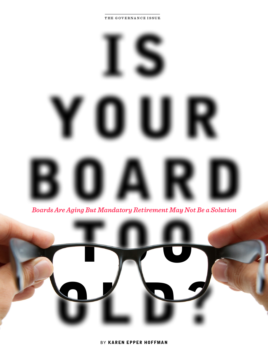 Digital magazine cover example glasses