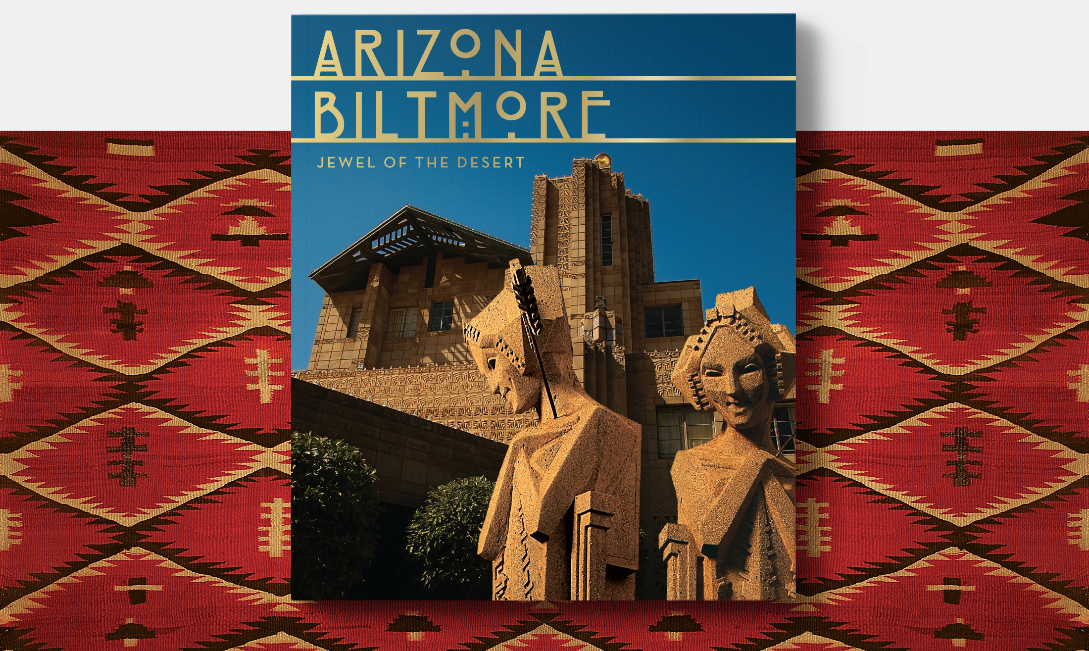 Dust jacket design for Arizona Biltmore publication | Robertson Design