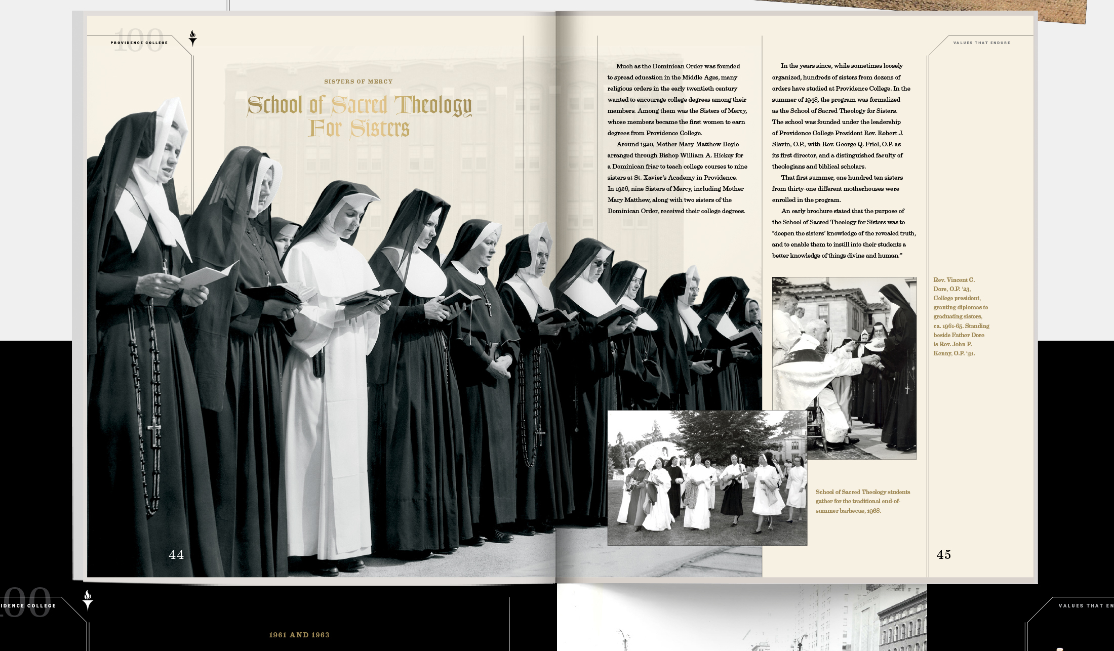 Interior Spread: School of Sacred Theology For Sisters | Robertson Design