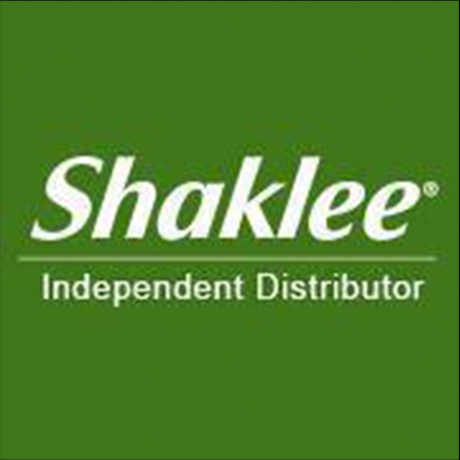 Shaklee Independent Distributor - Richard Fox