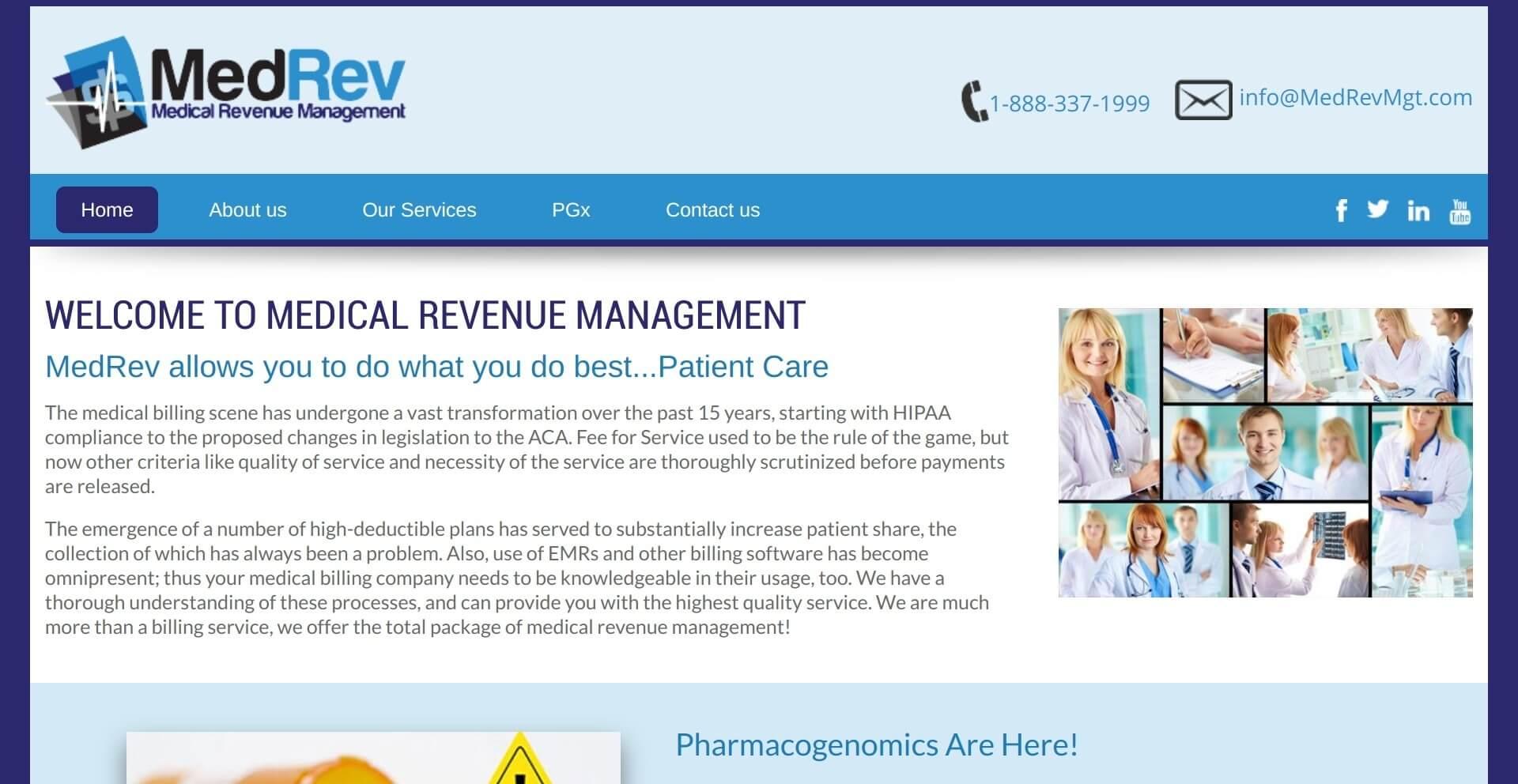 Med Rev-Medical Revenue Management