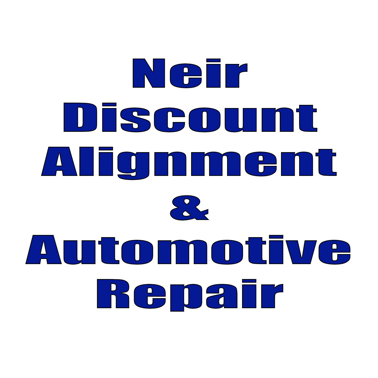 Neri Discount Alignment and Auto