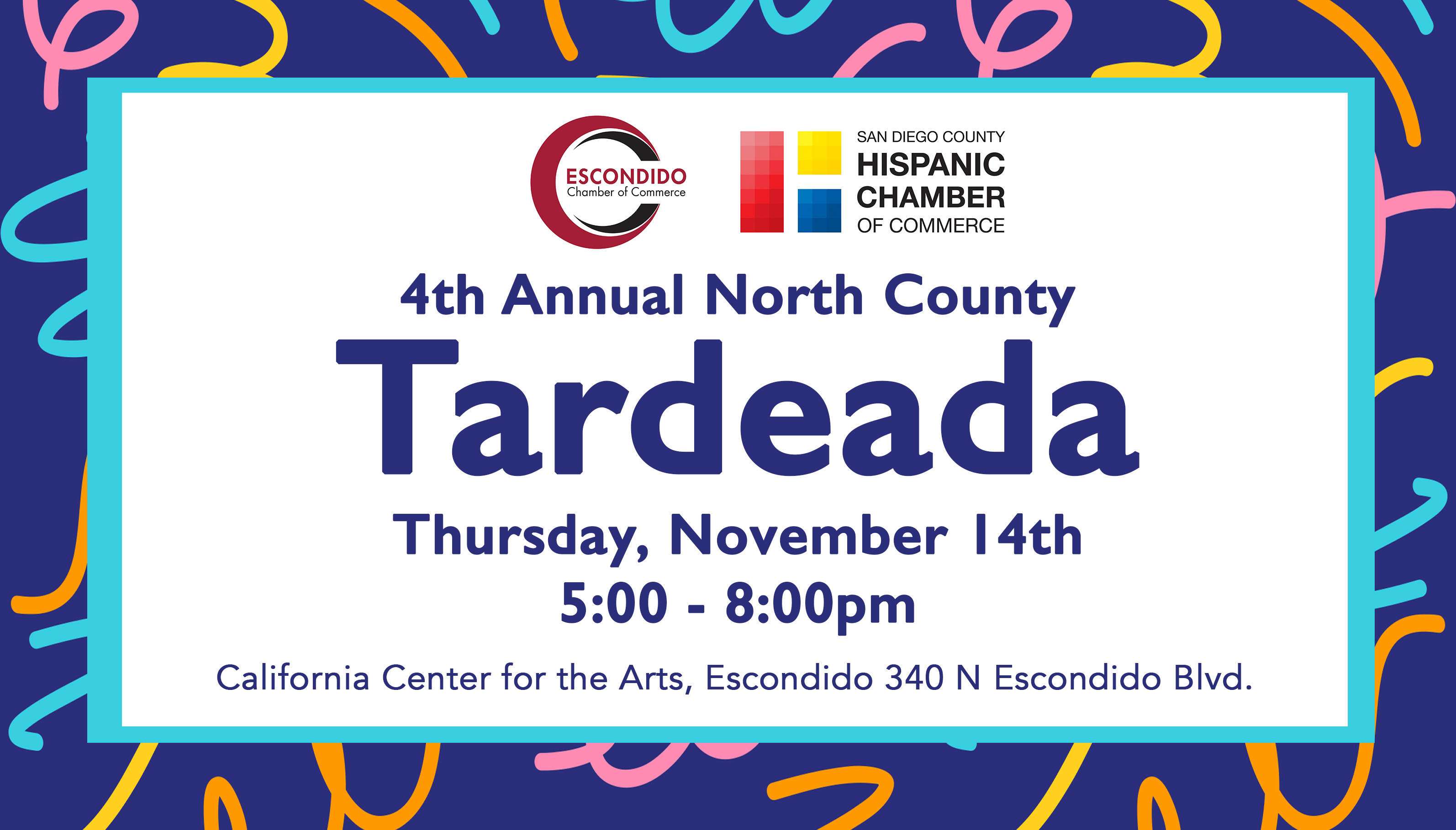 San Diego County Hispanic Chamber North County Tardeada 2019