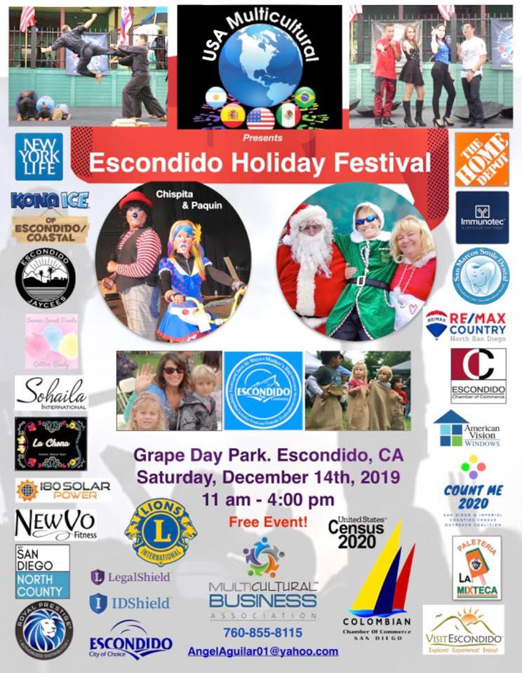 Escondido Multicultural Holiday Festival 2019