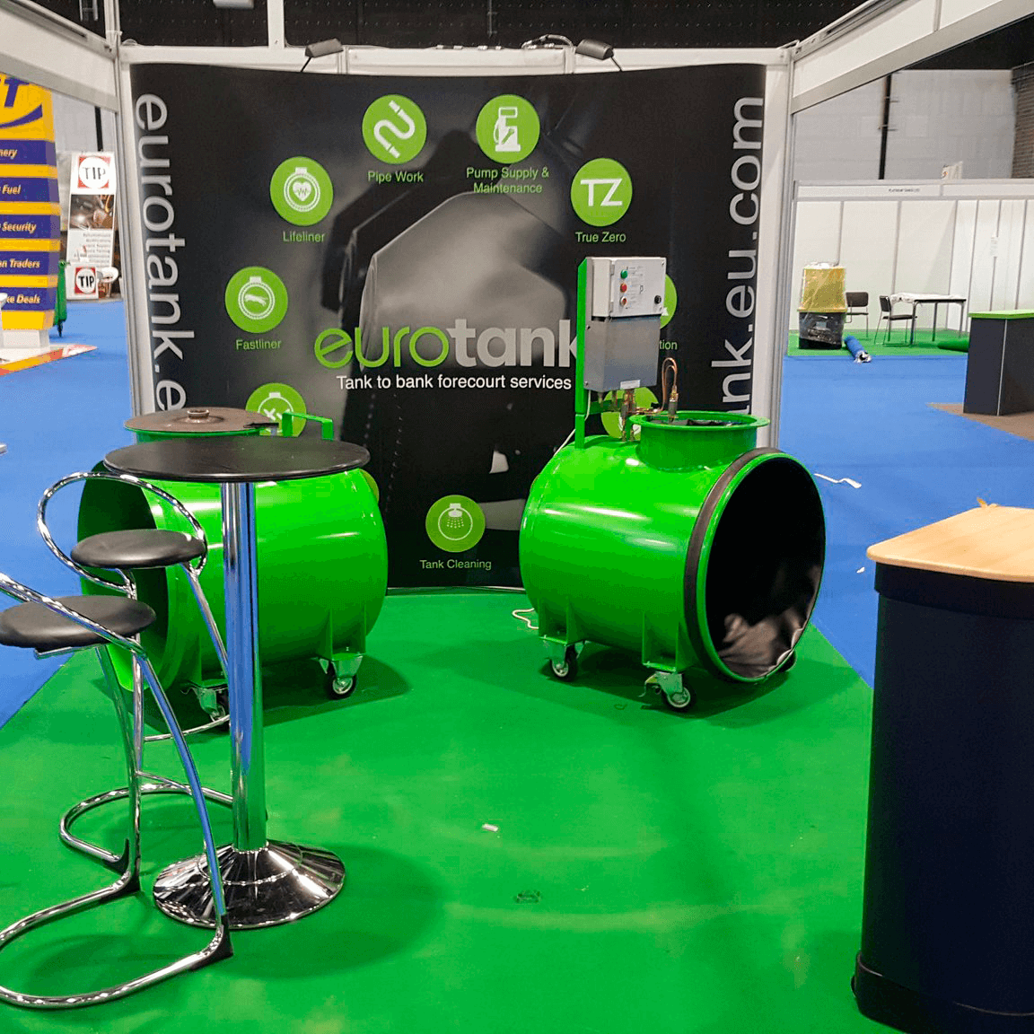 Eurotank Exhibition stand design