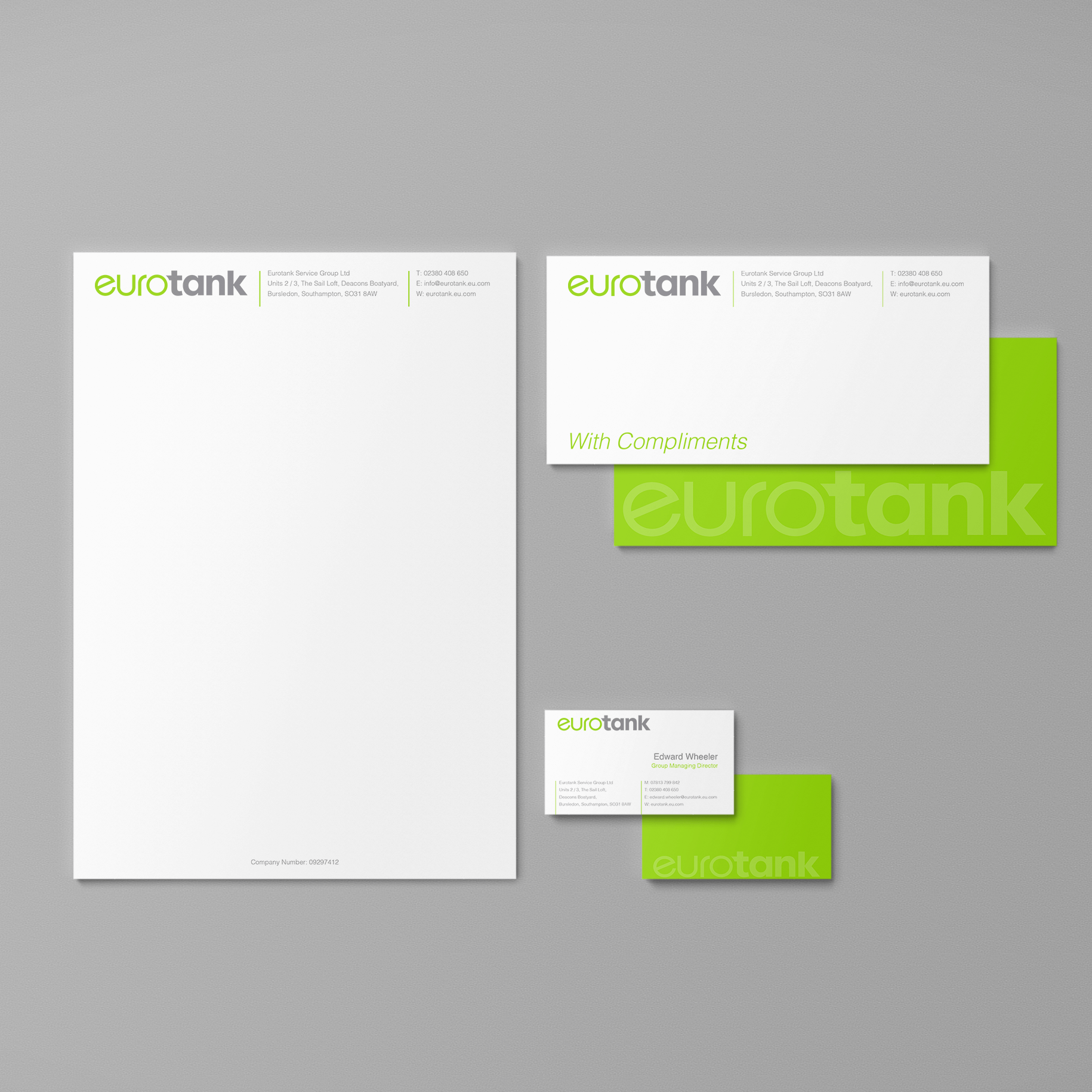 Eurotank corporate ID design