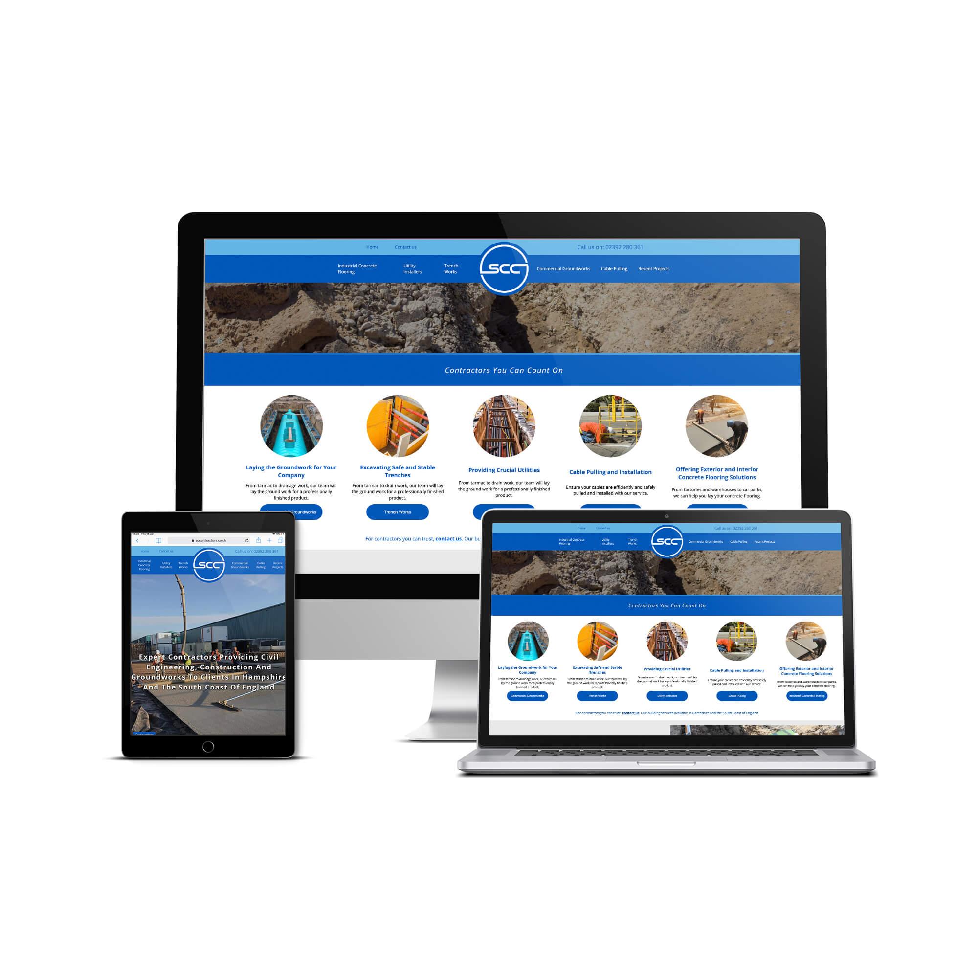 SCC Website Design