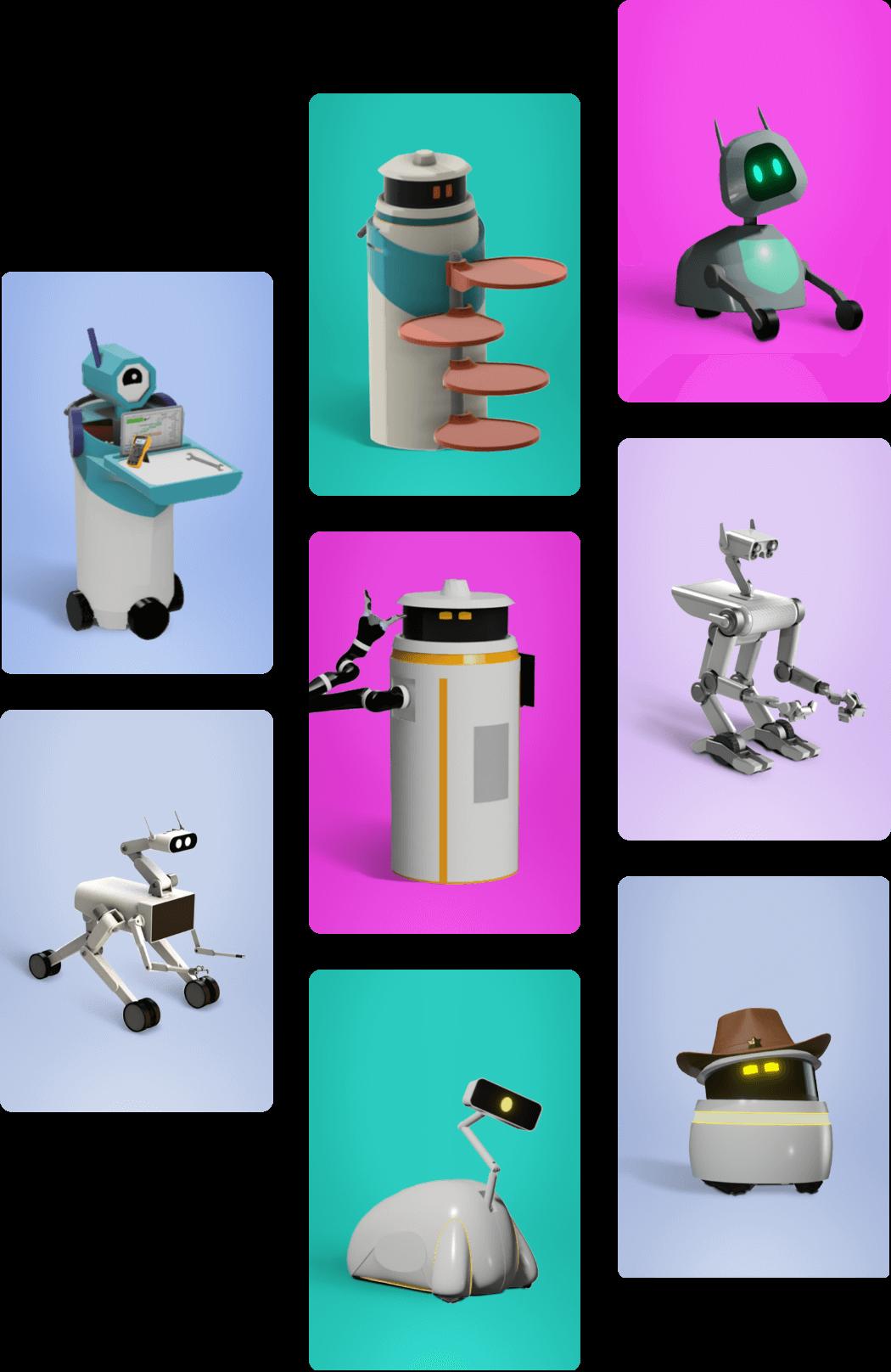 Akin Helper Robots