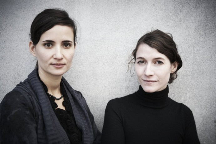 Mouna Andraos i Melissa Mongi, założycielki kolektywu artystycznego Daily tous les jours