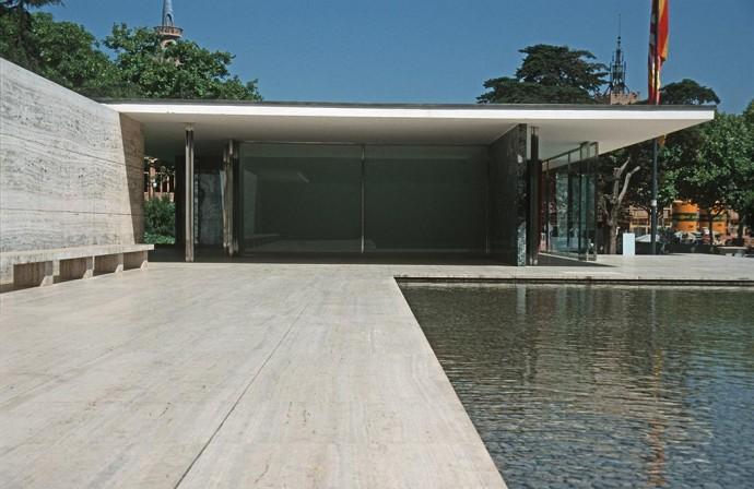 Pawilon w Barcelonie zrekonstruowany w 1986 roku © Wikimedia Commons