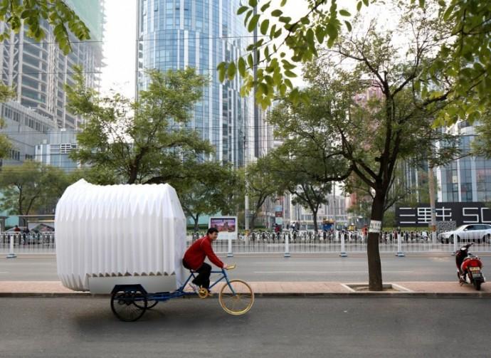 Pojazd współczesnego nomady © People's Architecture Office