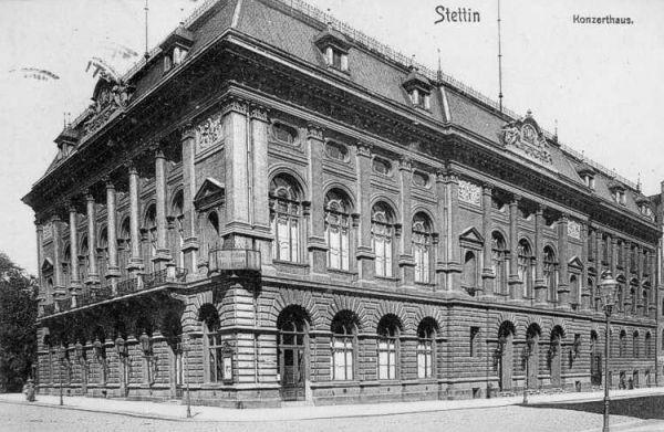 Dzieło Franza Schwechtena, późniejszego architekta Zamku Cesarskiego w Poznaniu