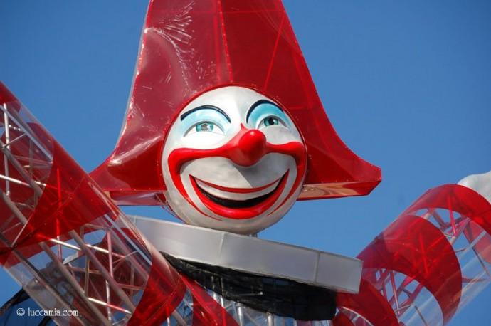 Twarz karnawału, Burlamacco © luccamia.com