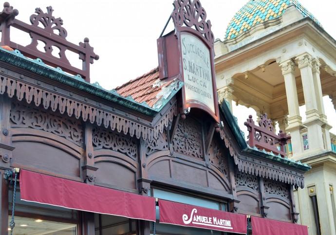 Jedyne wiernie zrekonstruowany budynek przy promenadzie © Garvest