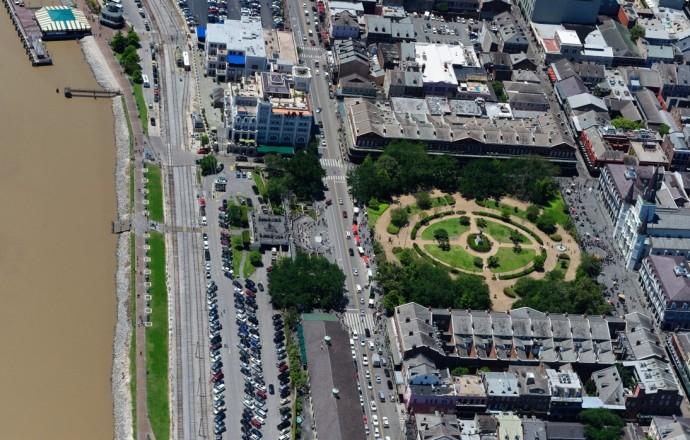 Jackson Square w Nowym Orleanie uznawany za jedną z najlepszych przestrzeni publicznych w Ameryce © Peter Dieter Jansen