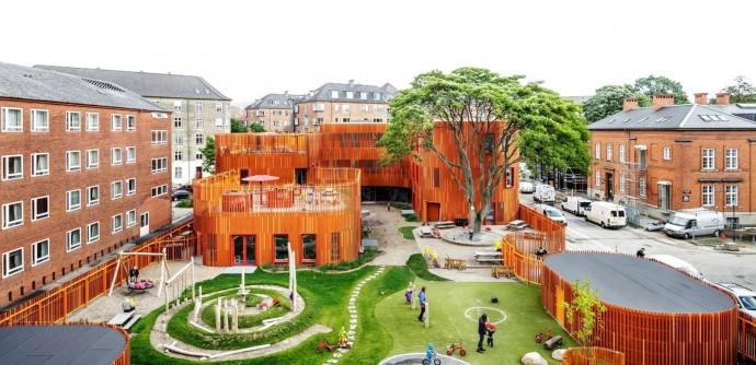 Kopenhaskie przedszkole studia Cobe © Adam Mørk