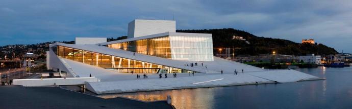 Siedziba norweskiej opery i baletu © Helge Høifødt