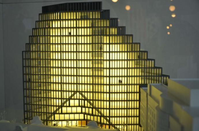 Makietę Bałtyku można oglądać w Concordia Design © Garvest