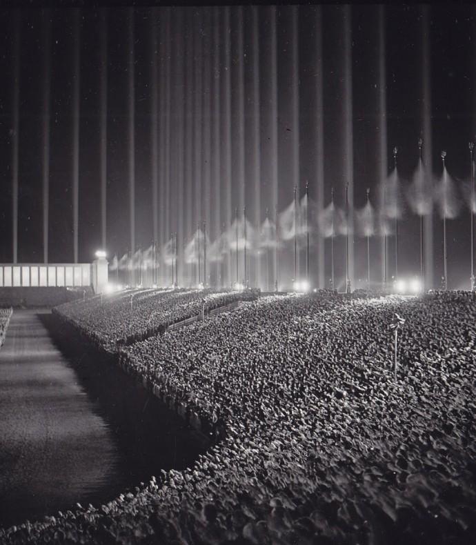 Wrześniowa noc 1937 roku pod Norymbergą © Bundesarchiv