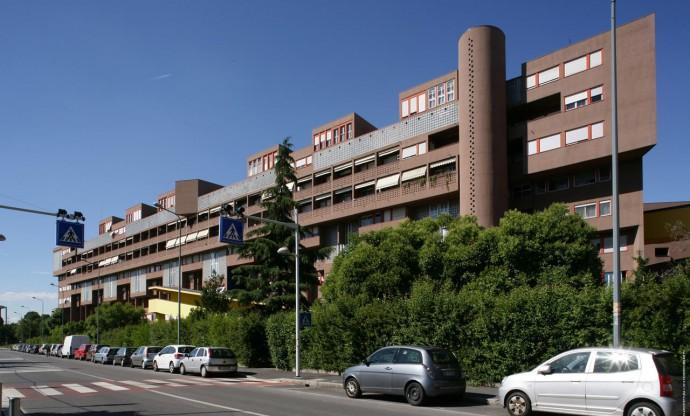 Południowa fasada budynku A2 © Federico Brunetti