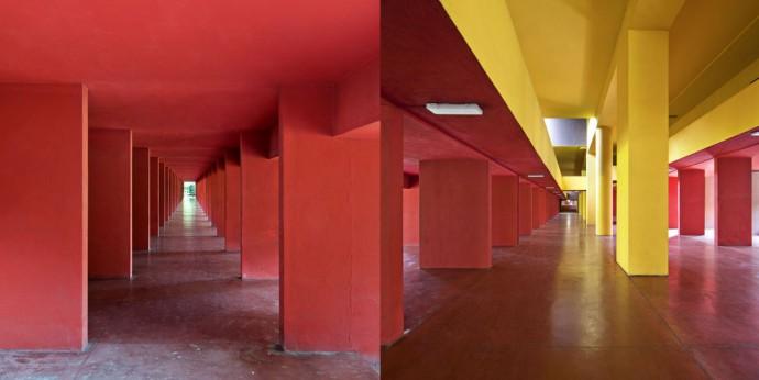 Przestrzeń pod placem głównym © Francesco Bolis