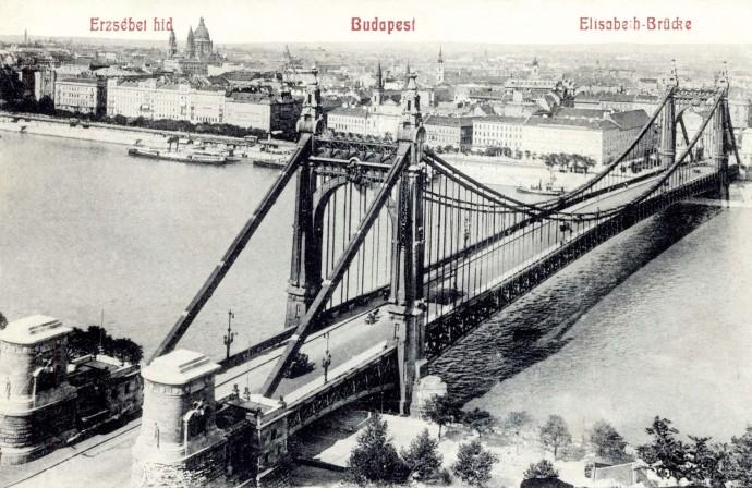 Most Elżbiety w 1907 roku