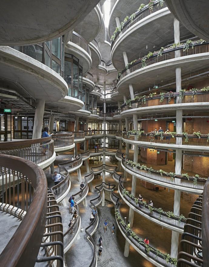 Balkonowe przestrzenie wymiany społecznej © Hufton and Crow