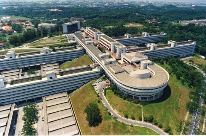 Kompleks zaprojektowany przez Kenzo Tange © ntu.edu.sg