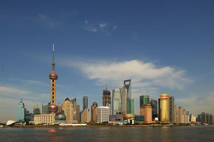 Pudong, czyli szanghajskie city © Pyzhou / GNU Free Documentation License