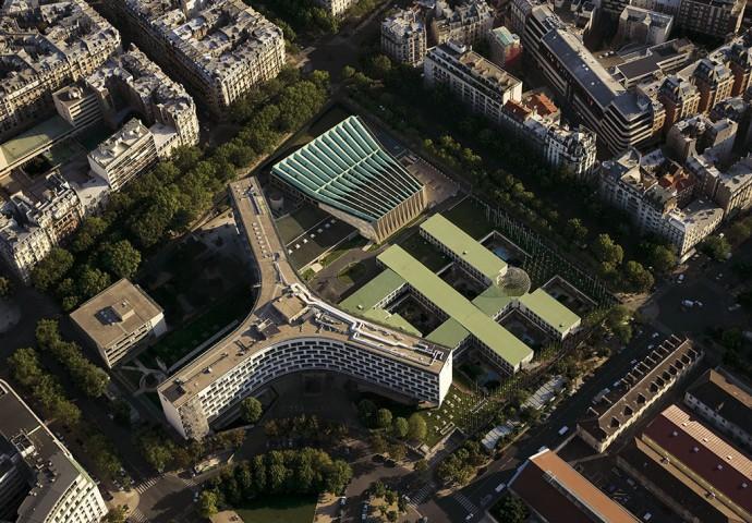 Otwarty na świat Maison de l'UNESCO © yannarthusbertrand2.org
