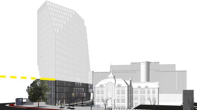 Stan realizacji projektu budynku © Garvest