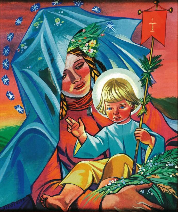 Matka Boska z Dzieciątkiem © Muzeum Okręgowe w Tarnowie