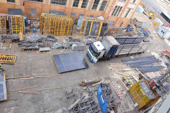 Dostawa stali zbrojeniowej na budowę © Garvest