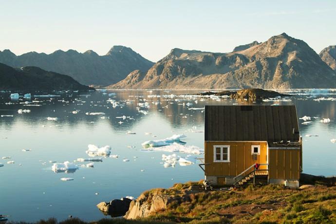 Kulusuk we wschodniej Grenlandii © Haukur Sigurdsson