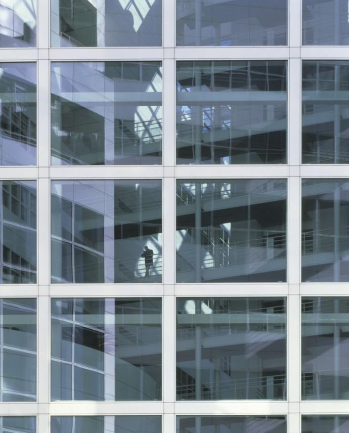 Galerie jak w gotyckim pałacu © Richard Meier & Partners Architects LLP