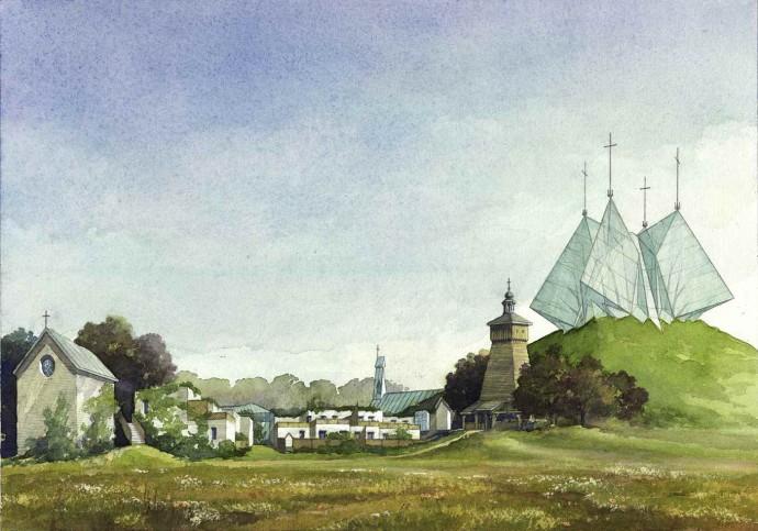 Projekt konkursowy profesora Budzyńskiego © Marek Budzyński