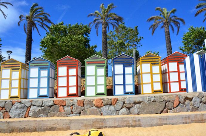 Przebieralnie na plaży Świętego Pawła ⓒ Garvest