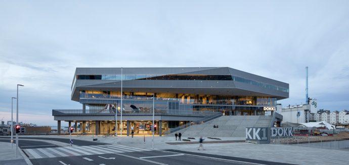 Budynek widziany od strony miasta © Schmidt Hammer Lassen Architects