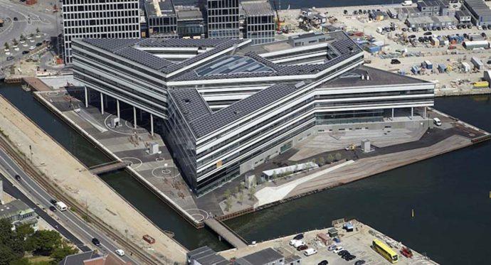 Navitas to największy budynek niskoenergetyczny w Danii, projektu architektów z Kopenhagi © Christensen & Co